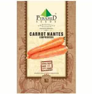 Carrot Nantes Vegetable (Improved) - 1000 Seeds