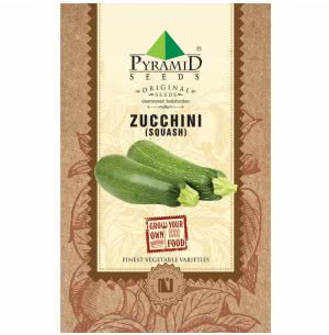 Zucchini (Squash) Vegetable- 10 Seeds